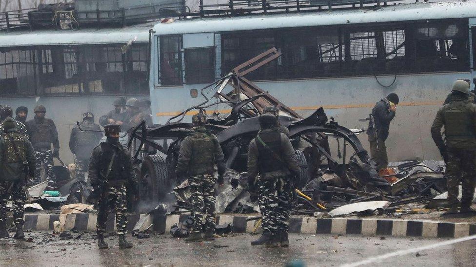 El ataque de febrero de 2019 fue el más mortal en décadas. GETTY IMAGES