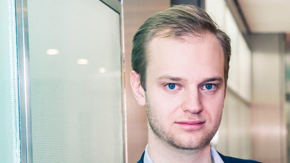 A Alexander Rinke se le ocurrió la idea mientras estudiaba en la universidad.