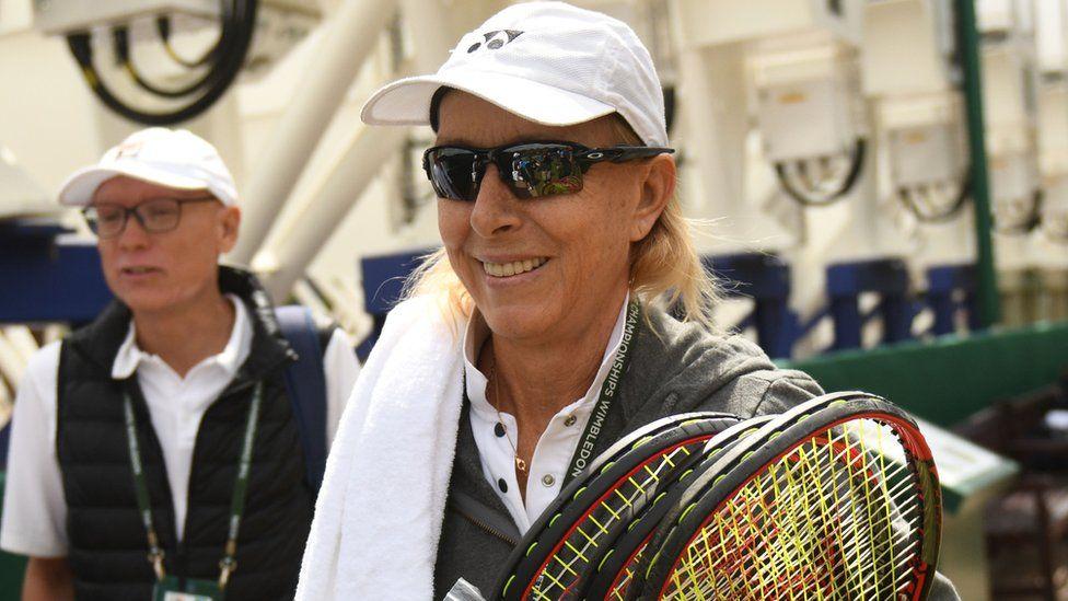 Navratilova ha sido defensora de los derechos de los atletas LGTB desde los años 80. GETTY IMAGES