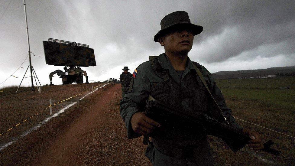 """""""Nosotros jamás entraremos en una confrontación bélica con Venezuela, a menos que nos ataquen. Pero no creo que Maduro esté lo suficientemente loco para hacer eso"""", dijo Mourão. AFP"""