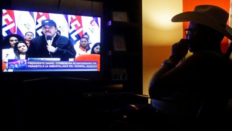 """Ortega confirmó el inicio de nuevas """"negociaciones"""" el pasado 21 de febrero. REUTERS"""