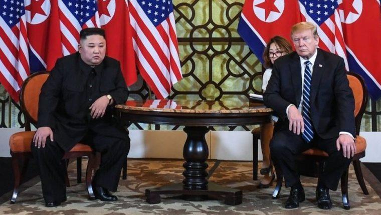Kim Jong-un y Donald Trump sostuvieron una cumbre de dos días en Hanói, la capital de Vietnam. AFP