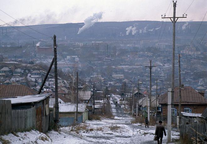 La región de Kuzbass es una de las mayores zonas mineras de Rusia. GETTY IMAGES