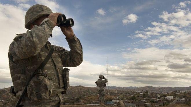 Quedarán entre 11 y 15 guardias nacionales en la frontera sur de Nuevo México. GETTY IMAGES