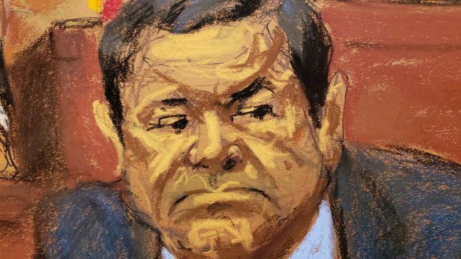 """""""El Chapo"""" aguarda un veredicto del jurado que podría suponerle la cadena perpetua en EE. UU. REUTERS"""