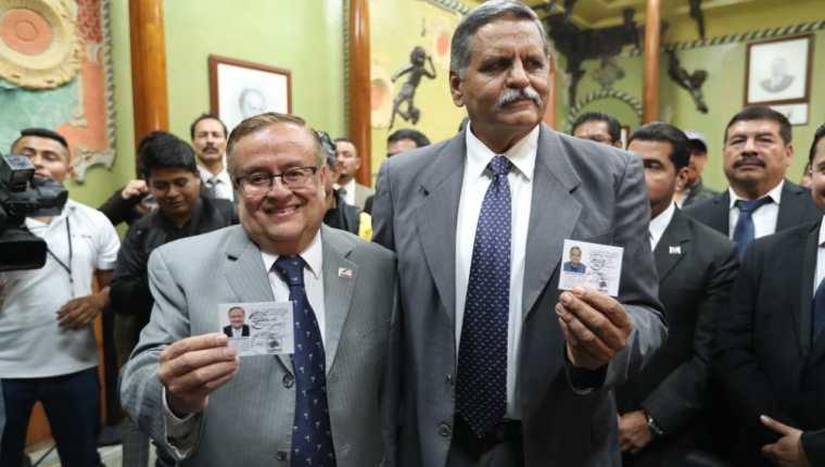 Mauricio Radfor (izquierda), junto a su compañero de fórmula, Abundio Maldonado. (Foto: Hemeroteca PL)