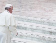 El papa Francisco convocó a al encuentro para la Protección de los Menores dentro de la Iglesia debido a las constantes denuncias sobre abusos sexuales de sacerdotes. (Foto Prensa Libre. EFE)