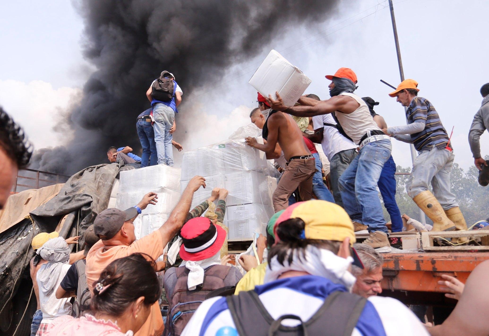 Crisis en Venezuela, llega la ayuda humanitaria