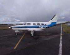 El avión de Emiliano Sala se accidentó en el Canal de la Mancha. (Foto Prensa Libre: EFE)