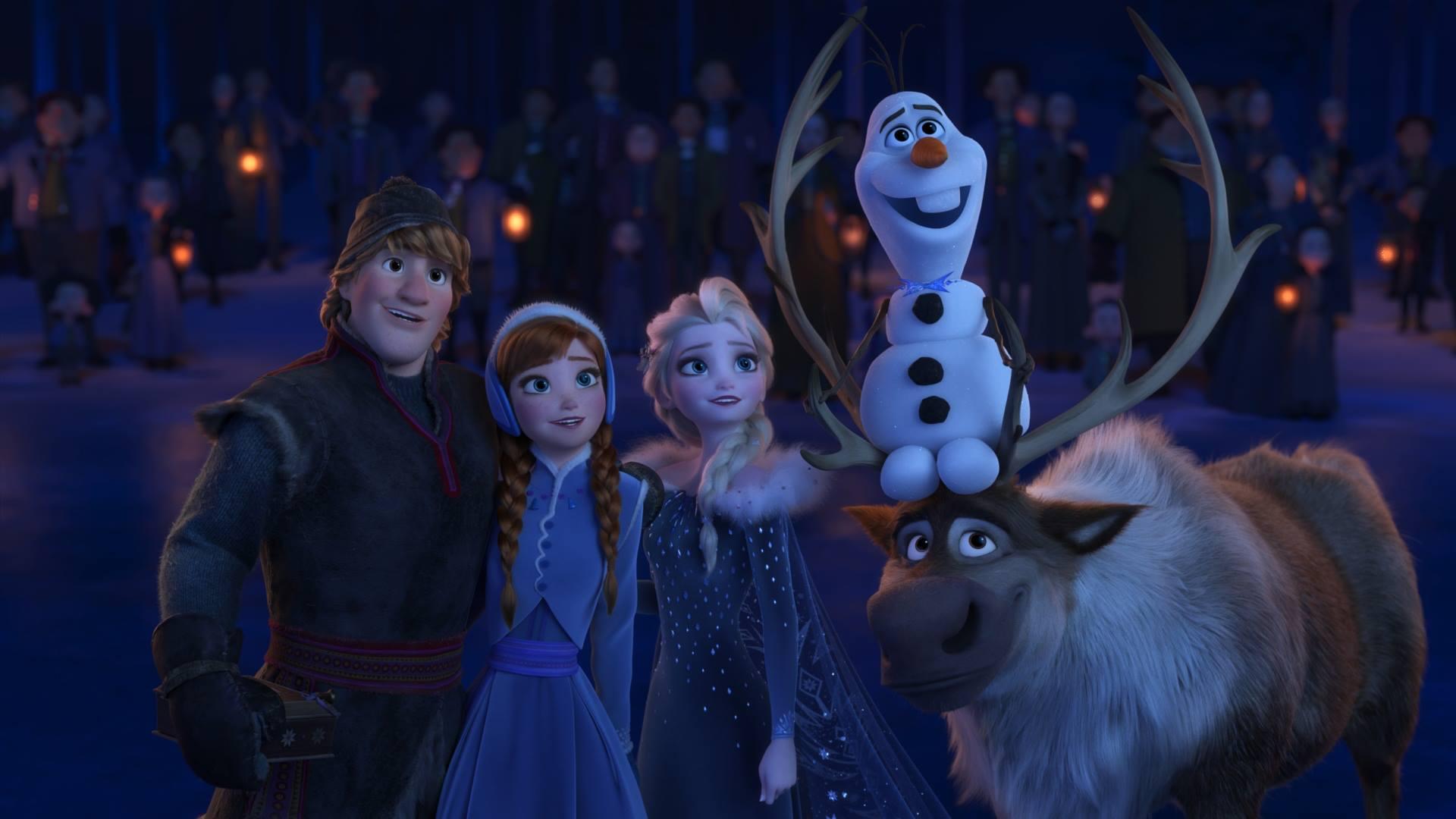 Ana, Elsa, Olaf y Kristoff enfrentarán una nueva aventura en esta segunda parte (Foto Prensa Libre: Disney)