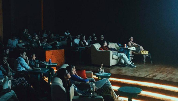 La Sala de Cine se ubicó por casi dos años en el Teatro Nacional (Foto Prensa Libre: La Sala de Cine / Facebook).