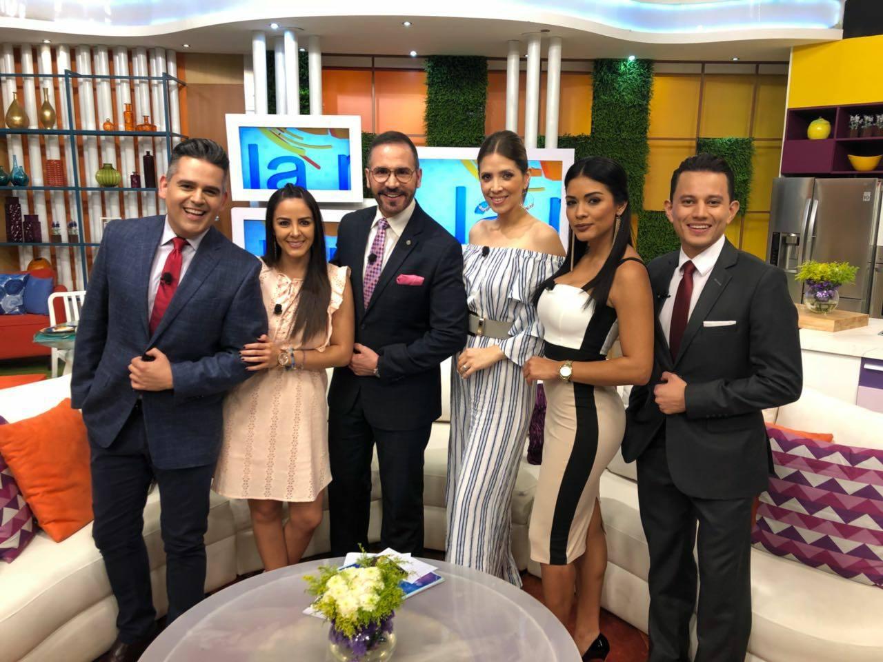 Qué Viva La Mañana se ha posicionado, a lo largo de estos 15 años, como uno de los programas preferidos de la audiencia guatemalteca (Foto Prensa Libre: Cortesía)