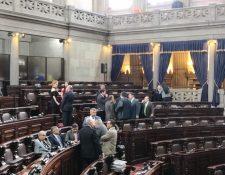 A la sesión plenaria de este miércoles no acudieron la mayoría de diputados y la interpelación al ministro de Desarrollo Social Carlos Velásquez Monge, fue suspendida. (Foto Prensa Libre: Carlos Álvarez)