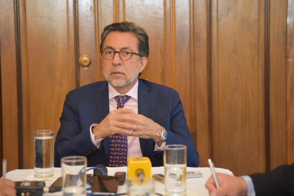 Embajador Luis Arreaga, sobre el proceso electoral en Guatemala: Vamos a esperar a que los partidos hablen de forma concreta