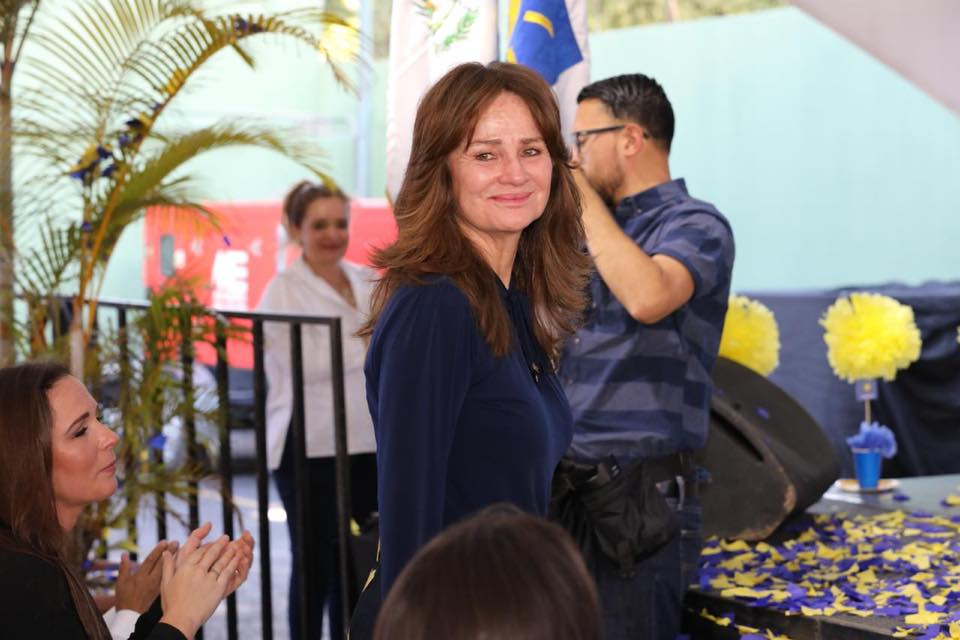 Patricia Escobar de Arzú continúa recibiendo contratos de servicios por parte de la municipalidad capitalina. (Foto Prensa Libre: Hemeroteca PL)