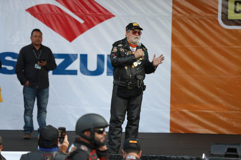Eddy Villa de León, organizador e hijo del fundador de la Caravana del Zorro, hizo un llamado para tomar medidas de seguridad.