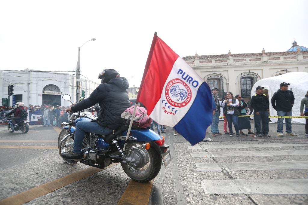 Representantes de Quetzaltenango también se hicieron presentes.