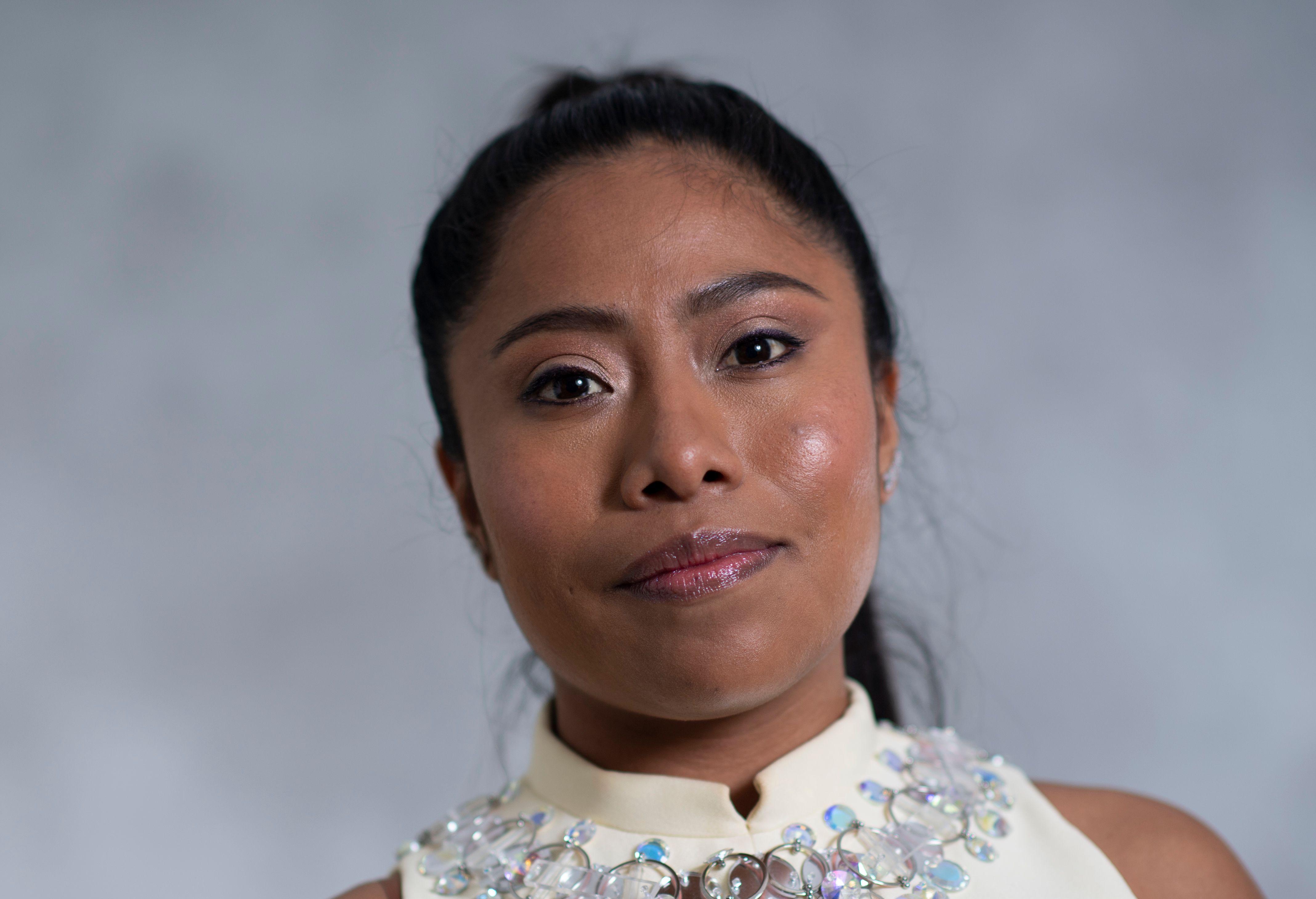 La nominada al Óscar Yalitza Aparicio fue atacada por actrices mexicanas (Foto Prensa Libre: AFP).