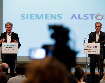 """París califica de """"golpe bajo"""" el veto de Bruselas a la fusión Alstom-Siemens"""