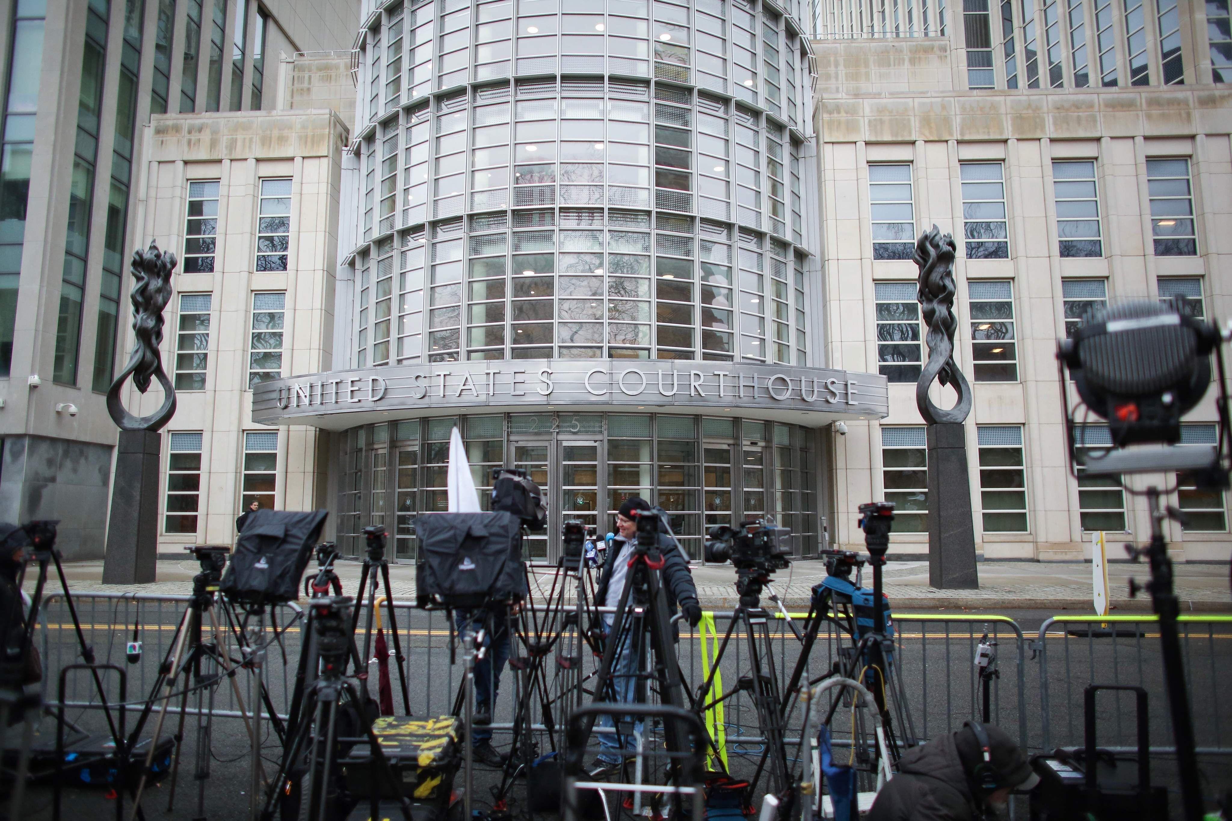 Jurado del caso contra el Chapo Guzmán deliberan la sentencia.  (Foto Prensa Libre: AFP)