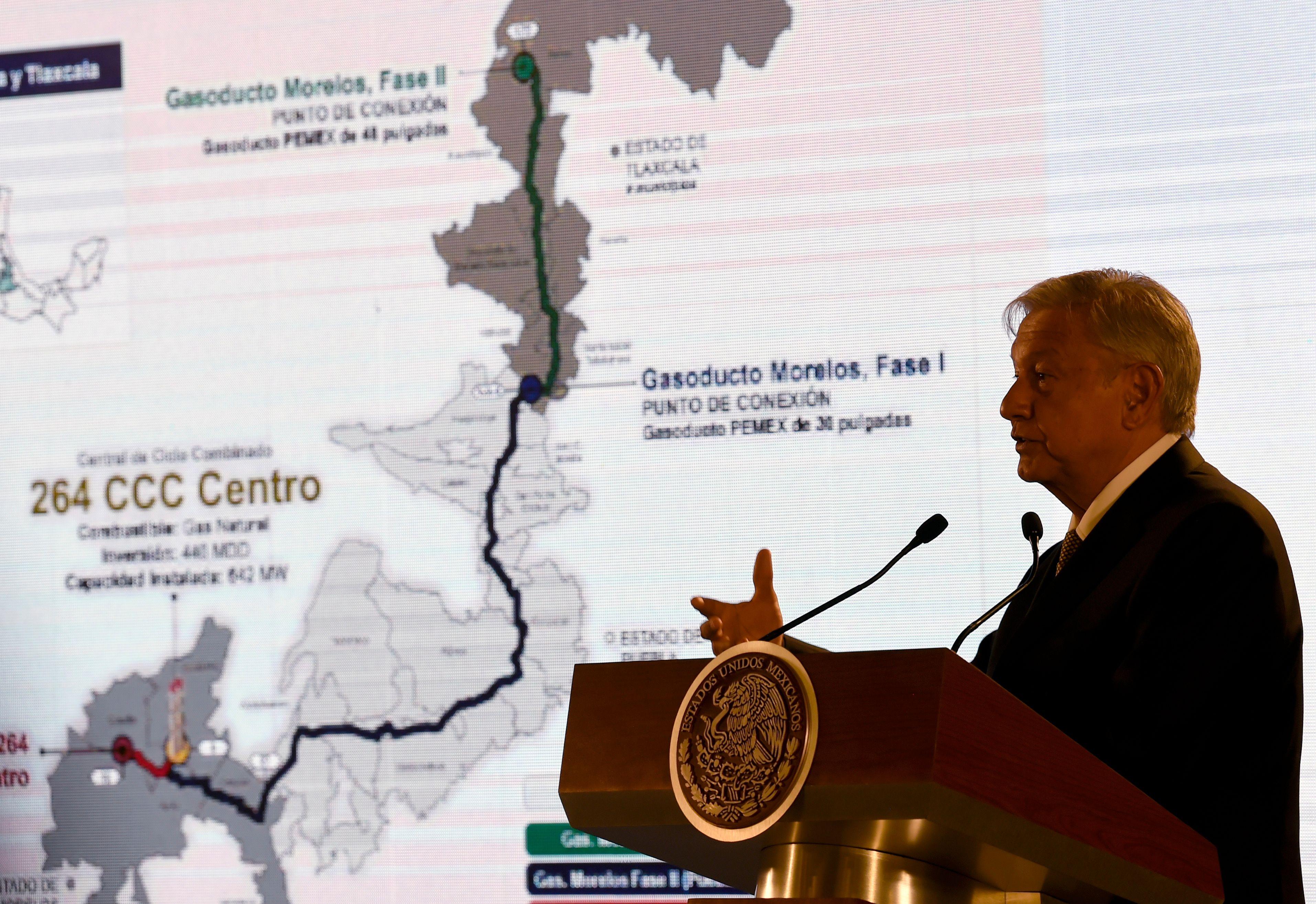 """El presidente mexicano, Andrés Manuel López Obrador anunció un plan para """"rescatar"""" a la petrolera mexicana Pemex. (Foto Prensa Libre: AFP)"""