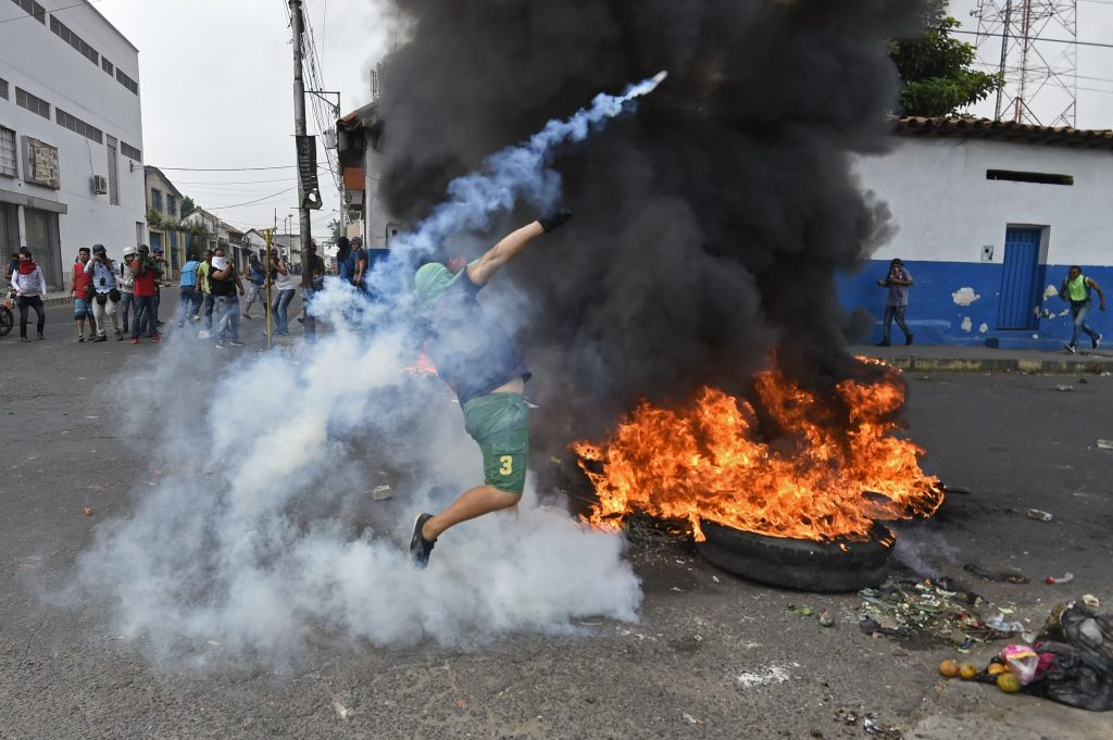 Según medios internacionales durante el enfrentamiento de este día hubieron varias personas fallecidas