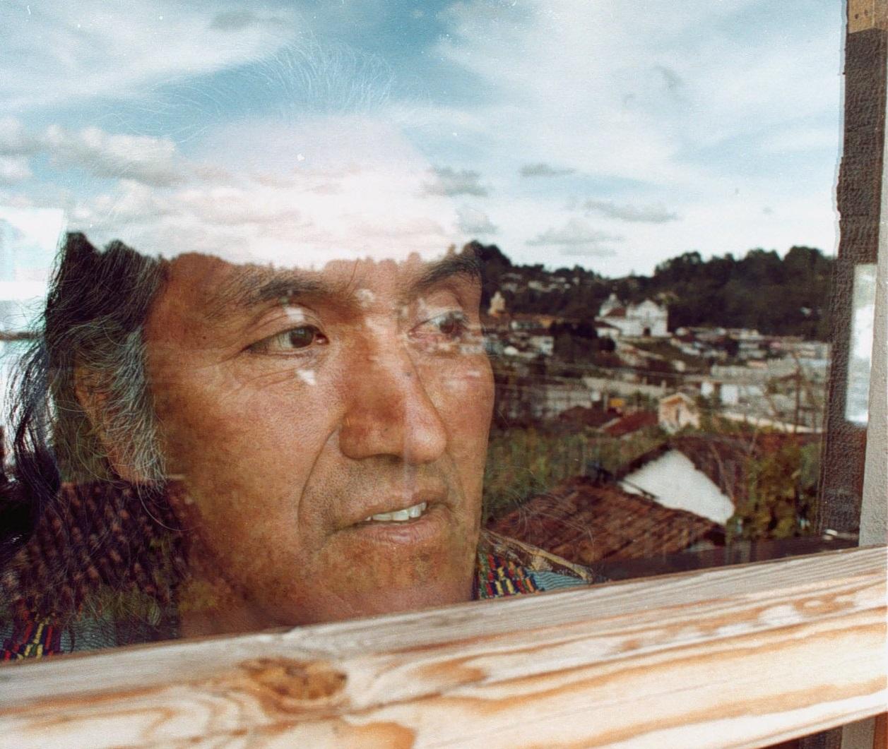 El poeta Humberto Ak'abal falleció el 28 de enero del 2019. Foto Prensa Libre: Hemeroteca PL
