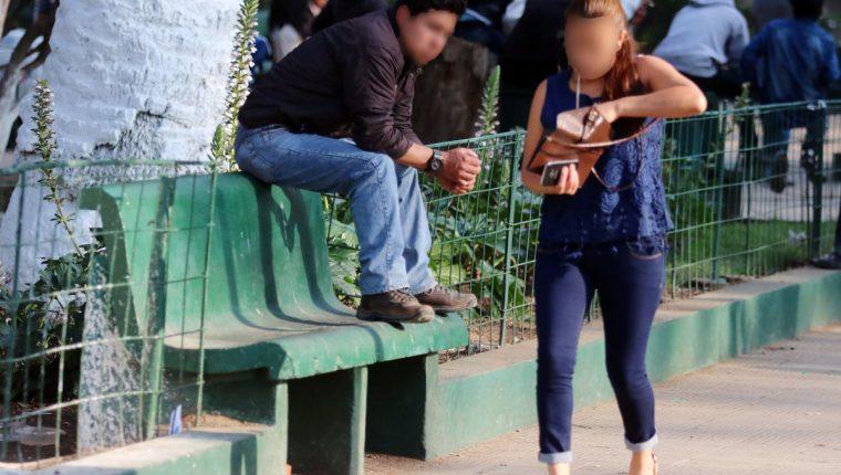 Mujeres acosadas recibirán el apoyo de empresas quetzaltecas. (Foto Prensa Libre: María Longo)
