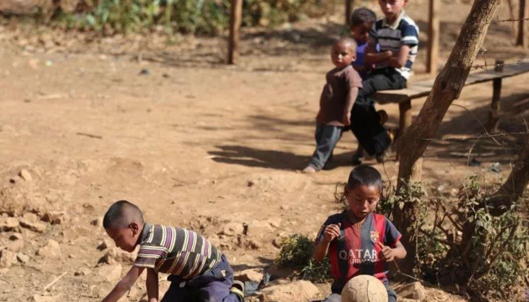 Préstamo financiará proyectos para evitar que la niñez caiga en desnutrición crónica. (Foto Prensa Libre: Hemeroteca PL)