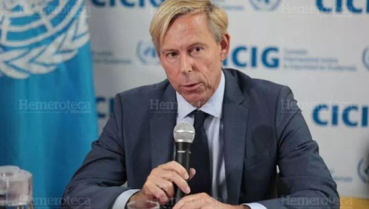 Anders Kompass, embajador de Suecia en Guatemala, fue llamado a consulta por su país. (Foto Prensa Libre: Hemeroteca PL)