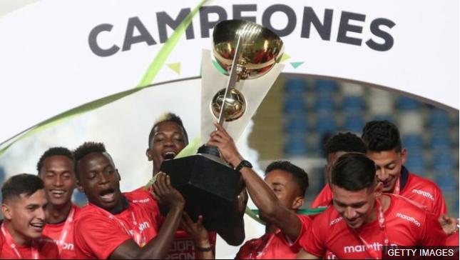 Ecuador conquistó el primer título de su historia en el Sudamericano de Chile. GETTY IMAGES