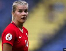 La última participación de Hegerberg con Noruega fue en la Eurocopa femenina de 2017, donde la selección nórdica fue eliminada en primera ronda al perder los tres partidos y sin anotar un gol. GETTY IMAGES