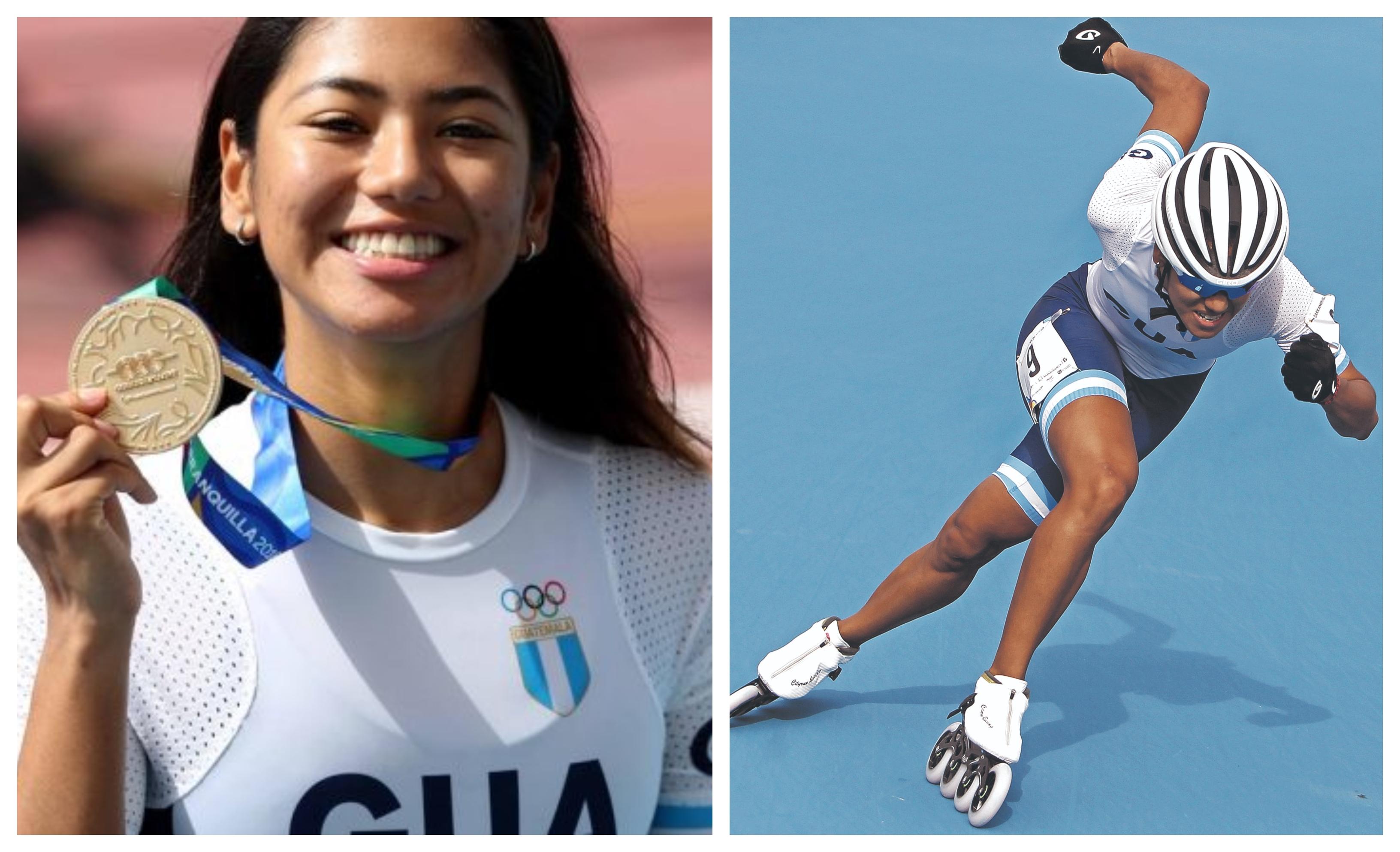 Dalia Soberanis festejó en los últimos Juegos Centroamericanos y del Caribe. (Foto Prensa Libre: Hemeroteca PL)