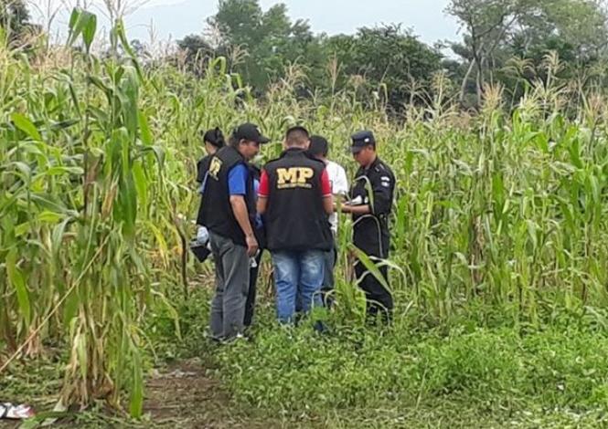 Lugar donde fue localizado el cadáver de la menor en Escuintla. (Foto Prensa Libre: Hemeroteca PL).