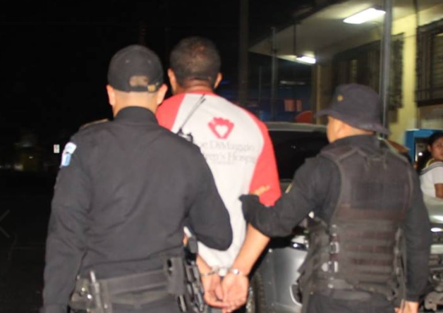 Hugo Antonio López Arana fue detenido en Palín, Escuintla. (Foto Prensa Libre: PNC).
