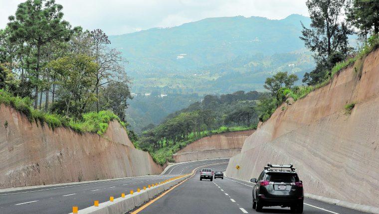 La primera parte del libramiento de Chimaltenango fue abierto en octubre del año pasado y las autoridades creen que estará terminado antes de Semana Santa. (Foto Hemeroteca PL)