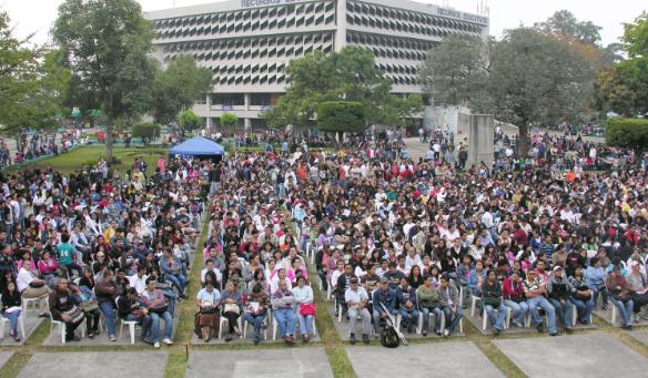 Inauguración de cursos libres en la Usac. (Foto Prensa Libre: Cortesía Usac).