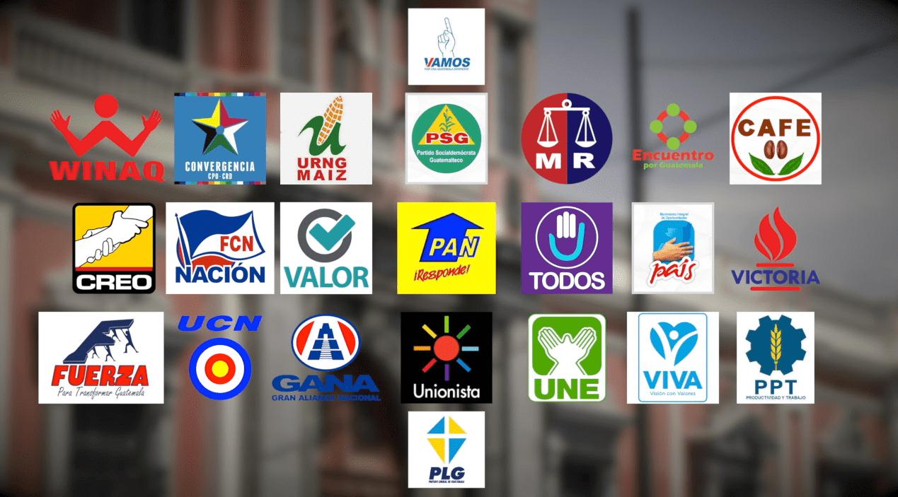 """Los partidos políticos usan diversas estrategias para """"hacer notar"""" a sus candidatos a cargos de elección popular. (Foto Prensa Libre: Hemeroteca PL)"""