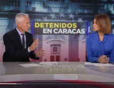 Jorge Ramos, durante una entrevista de Univisión. (Foto: Univisión)