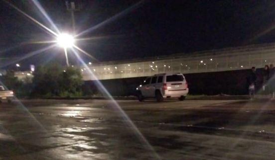 La familia guatemalteca fue atropellada en una calle cercana al aeropuerto de Tijuana. (Foto: Ángel González)