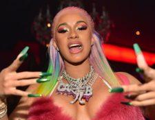 Cardi B es la rapera más importante del momento (GETTY)