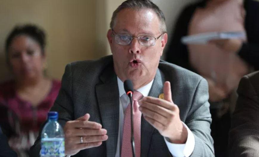 Ministro de Salud, Carlos Soto. (Foto Prensa Libre: Hemeroteca PL)