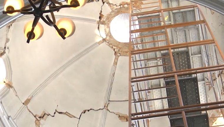La reconstrucción llevaría aproximadamente 18 meses. (Foto Prensa Libre: María Longo)
