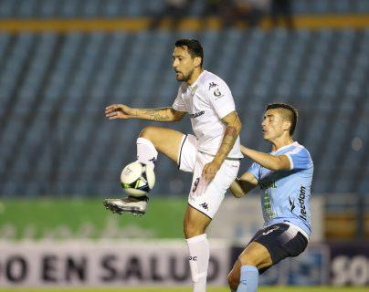 Abraham Darío Carreño no ha tenido una buena producción de goles en el Clausura 2019. (Foto Prensa Libre: Francisco Sánchez)
