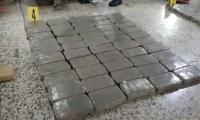 Parte de paquetes de cocaína decomisados en operativos en el Océano Pacífico. (Foto Prensa Libre: Hemeroteca)
