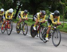 El equipo Decorabaños ha dominado el ciclismo guatemalteco en las últimas temporadas y ahora busca sobresalir en el extranjero. (Foto Prensa Libre: Cortesía Federación de Ciclismo)