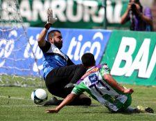 Liborio Sánchez, llegó a Chiantla en el Clausura 2019. (Foto Prensa Libre: Carlos Vicente)
