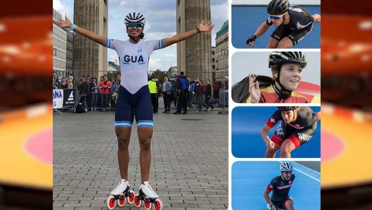 Dalia Soberanis disfruta de la nueva etapa de su vida deportiva en Alemania. (Foto Prensa Libre: @teamarenageisingen)
