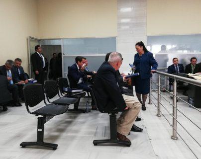 La audiencia de primera declaración contra ocho diputados se realizó en el Juzgado Quinto Penal. (Foto Prensa Libre: Hemeroteca PL)