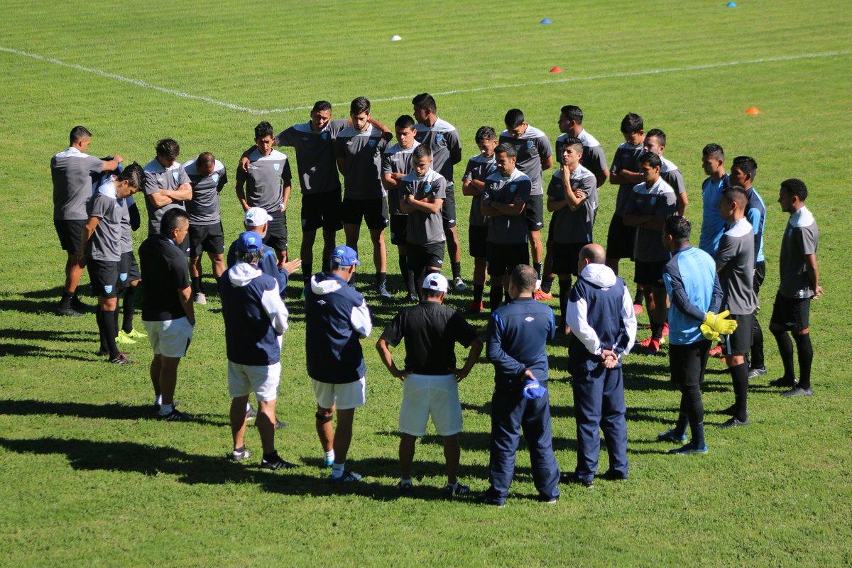 La Selección de Guatemala tendrá este martes su tercer morfociclo de trabajo del 2019. (Foto Prensa Libre: Fedefut)
